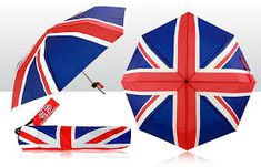 Union Jack Umbrella & Cover - 1 In Stock