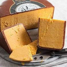 Vintage Red Leicester (Red Storm) by Snowdonia Cheese Co - 2 In Stock