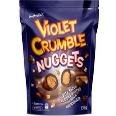 Violet Crumble Nuggets Pouch - 135g - Sold Out