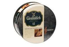 Walkers 12 Year Glenfiddich Highland Whisky Cake Tin - 800g - Sold Out