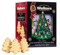 Walkers Shortbread 3-D Christmas Tree Carton - 150g - Sold Out