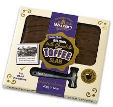 Walkers Nonsuch Belgian Chocolate Toffee Slab - 400g  - Not Available 2019
