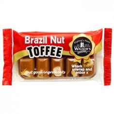 Walker's Nonsuch Brazil Nut Toffee - 100g - Sold Out