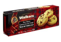 Walkers Shortbread Chocolate Chip - 175g - Low Stock