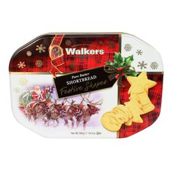 Walkers Shortbread Festive Shapes Tin - 350g - Sold Out