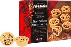 Walkers Fruit Tart -Mini Gin Infused 136g - Sold Out 2020
