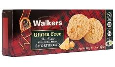 Walkers Shortbread Ginger & Lemon  - Gluten Free - 140g - 4 In Stock