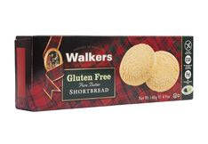 Walkers Shortbread Rounds - Gluten Free - 140g