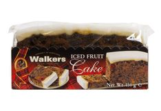 Walkers Iced Fruitcake - 454g - Sold Out
