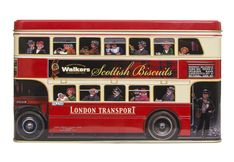 Walkers London Bus Biscuit Assortment Tin - 450g - Sold Out