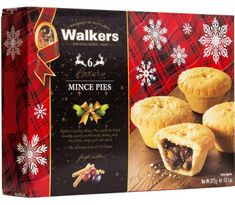 Walkers Luxury 6 Mince Pies - 372g  - Sold Out