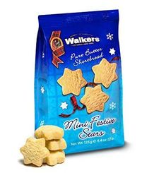 Walkers Shortbread Mini Festive Stars Pouch - 125g - Sold Out