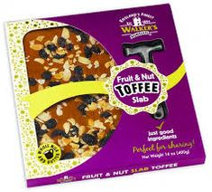 Walkers Nonsuch Fruit & Nut Toffee Slab - 400g -  sold out 2020