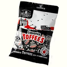 Walker's Nonsuch Liquorice Toffees - 150g