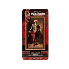 Walkers Shortbread Prince Bonnie Charlie Tin - 340g - 2 In Stock - BB April 2021