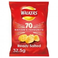 Walkers Ready Salted - 32.5g - Sold Out