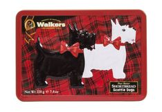 Walkers Shortbread Scottie Dogs Tin - 220g - Sold Out