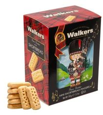 Walkers Shortbread 3-D Piper Carton - 150g  - Sold Out