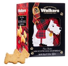 Walkers Shortbread 3-D Scottie Dog Carton - 150g - Sold Out