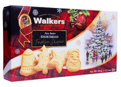 Walkers Shortbread Festive Shapes - 350g - Not Available 2019
