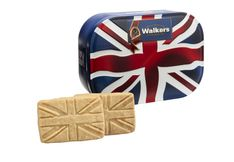Walkers Shortbread Union Jack Tin  - 120g - sold out