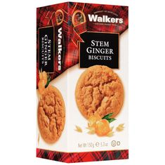 Walkers Stem Ginger Biscuits - 150g - Sold Out