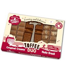 Walkers Nonsuch Toffee Duo - Original Creamy & Nutty Brazil - 200g  - Sold Out 2020