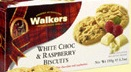 Walkers White Chocolate & Raspberry Biscuits - 150g