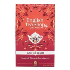 English Tea Shop Beetroot, Ginger & Curry Leaves - 20ct Bags
