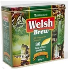 Welsh Brew Tin - 80ct Bags
