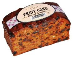 Welsh Hills Fruit Cake with Port & Brandy - 400g - Free from wheat and gluten - Sold Out