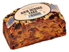 Welsh Hills Rich Dundee Cake - 430g - Free from wheat and gluten - Sold Out
