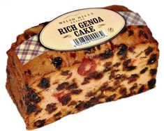 Welsh Hills Rich Genoa Cake - 400g - Free from wheat and gluten - BB May 2020 - Sold Out