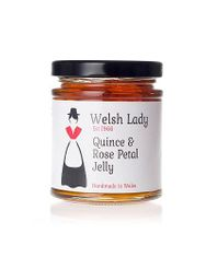 Welsh Lady Quince & Rose Petal Jelly - 227g - Sold Out