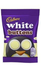 Mini White Chocolate Buttons - 14.4g
