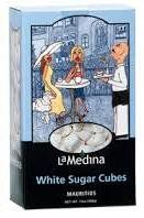 La Medina White Sugar Cubes - 368g - 3 in stock
