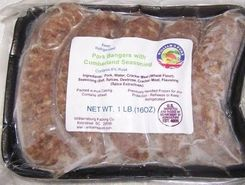 William's Pork Bangers with Cumberland Seasoning - 5pk  - Sold Out