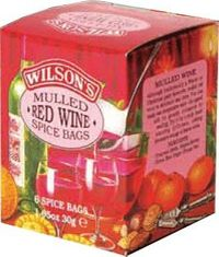 Wilson's Mulled Wine Spice Bags - 6ct Bags - Not Available 2019