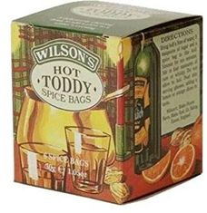 Wilson's Hot Toddy Spice Bags - 6ct Bags - Not Available 2019