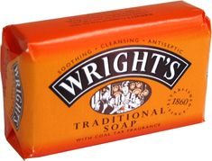 Wright's Traditional Coal Tar Soap 4pk - 500g