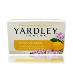 Yardley Lemon Verbena Moisturizing Bath Bar - 120g
