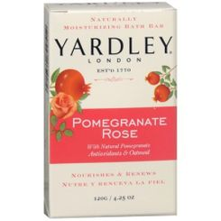 Yardley Pomegranate Rose Soap - 120g - Sold Out
