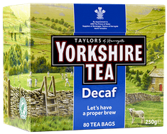 Yorkshire Decaf - 80ct Bags