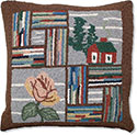 Adirondack Mountain House Pillow