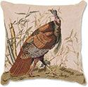 Audubon Pillow Wild Turkey