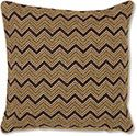 Kuba Cloth ZigZag Pillow