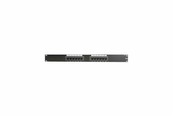 12 Port Rack Mount Patch Panel