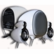 2.1 Active Classic Looking Power Speaker with Powered Subwoofer - White