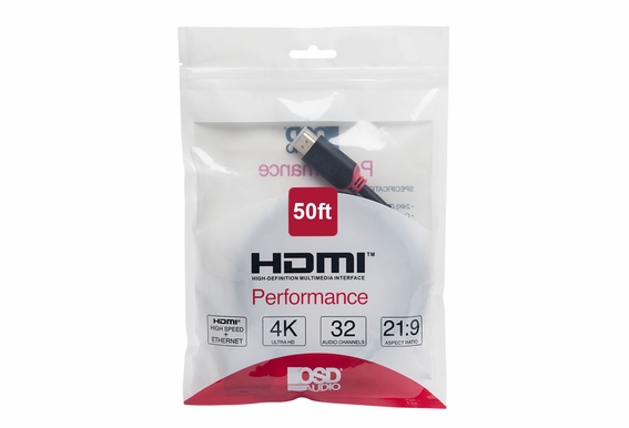 50ft Performance Series High Speed 4K HDMI Cable