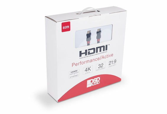 60ft Performance Series Active High Speed 4K HDMI Cable